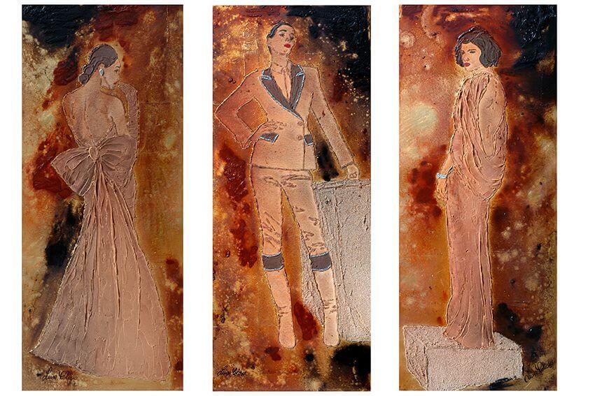 Donne, creature magiche in cui l'uomo si riflette, donna altera dea contemporanea, classe innata
