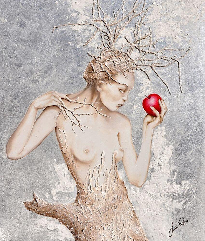 Con solide radici affronto il gelo della vita e colgo il frutto dell'amore